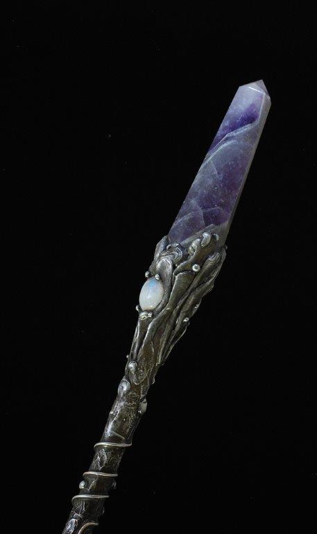 Chrysocolla Wand - Click Image to Close
