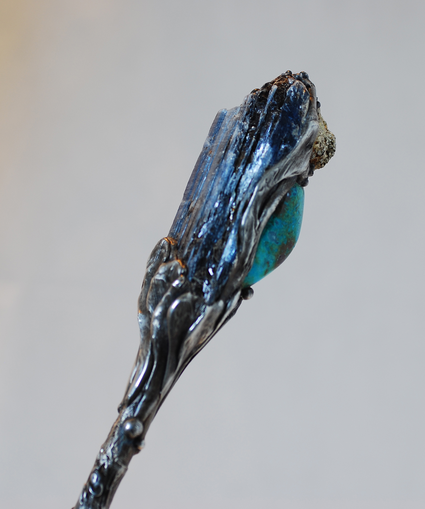Clear Quartz Kyanite Magic Wand