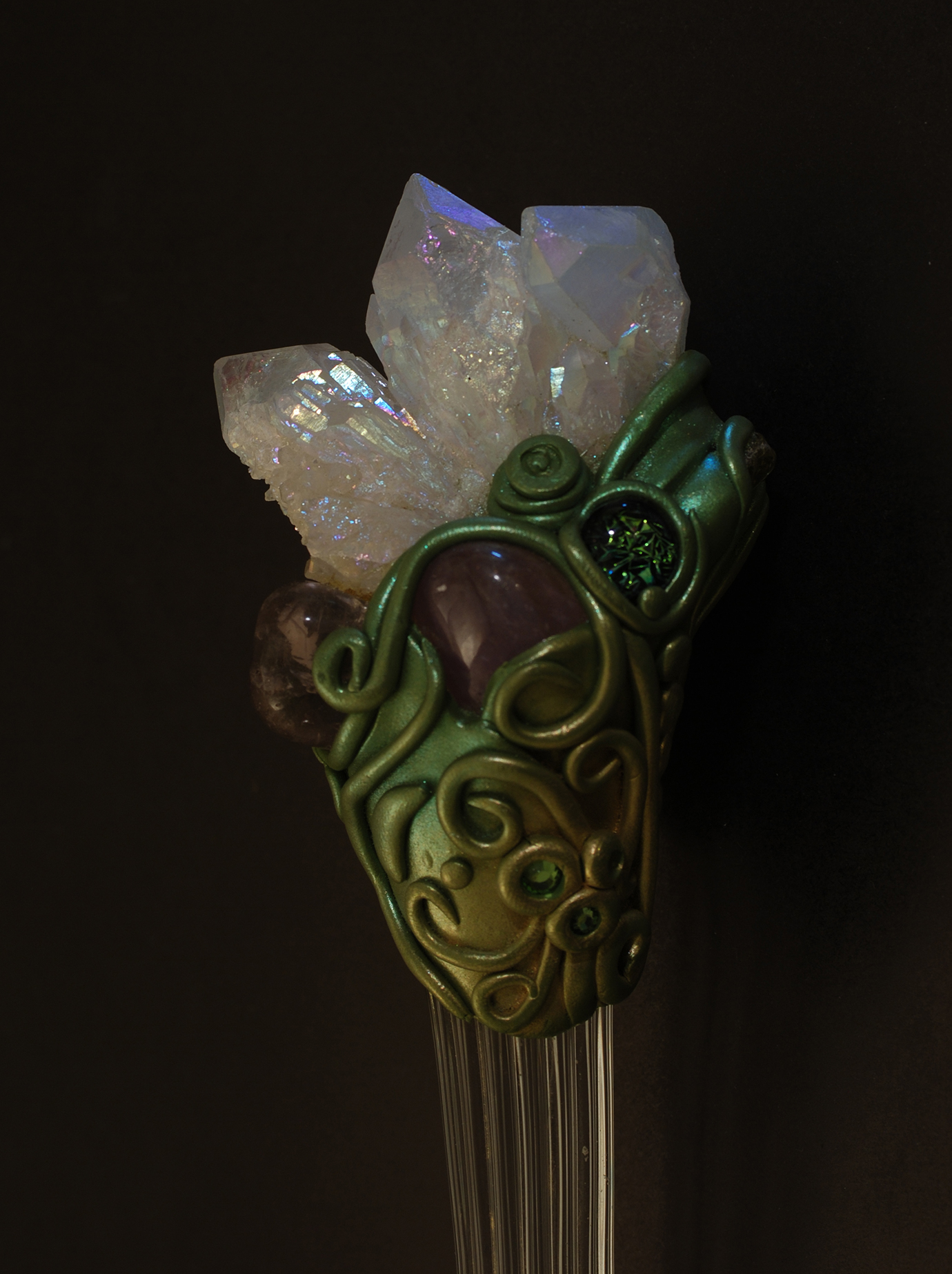 Earth Goddess wand